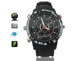 Water-Resistant 720p HD Video Watch